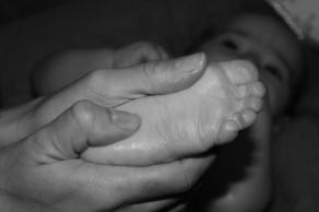 massage pied retouché